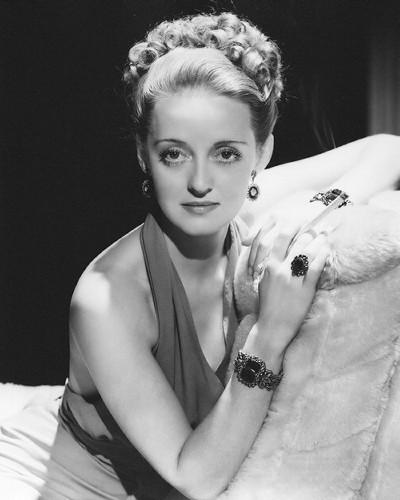 Famous actress Bette Davis.